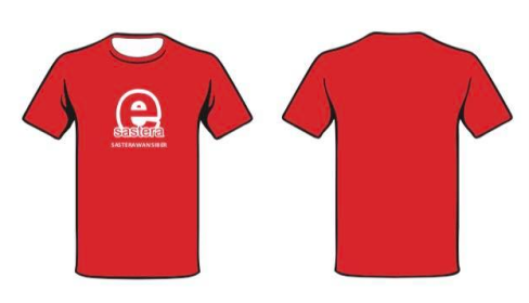 Tshirt-eSastera-merah-depan-Belakang